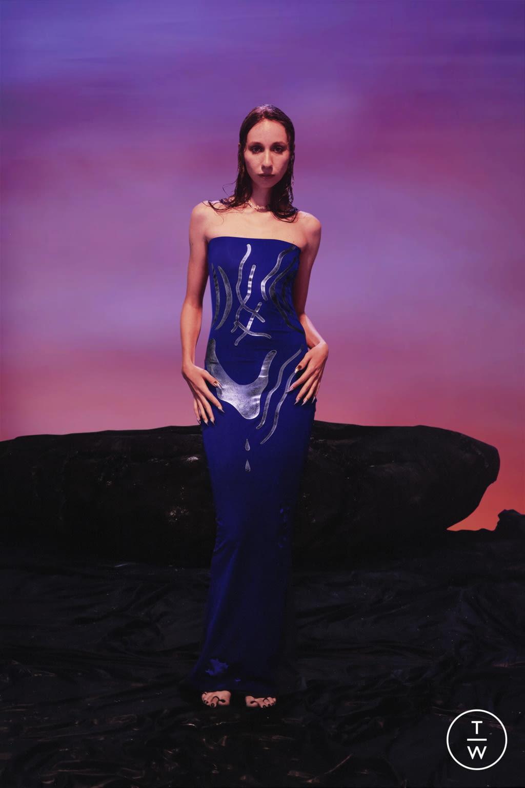 Fashion Week Paris Spring/Summer 2022 look 17 from the Di Petsa collection womenswear