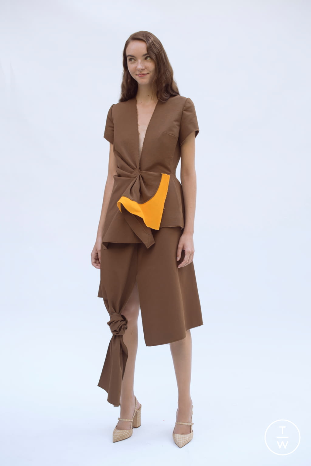 Fashion Week Paris Spring/Summer 2019 look 18 from the Patricia Padrón collection womenswear