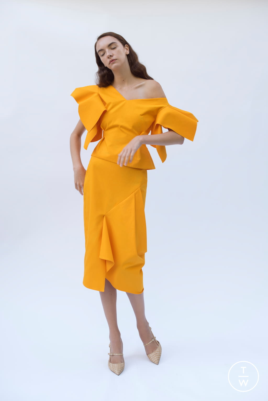Fashion Week Paris Spring/Summer 2019 look 19 from the Patricia Padrón collection 女装