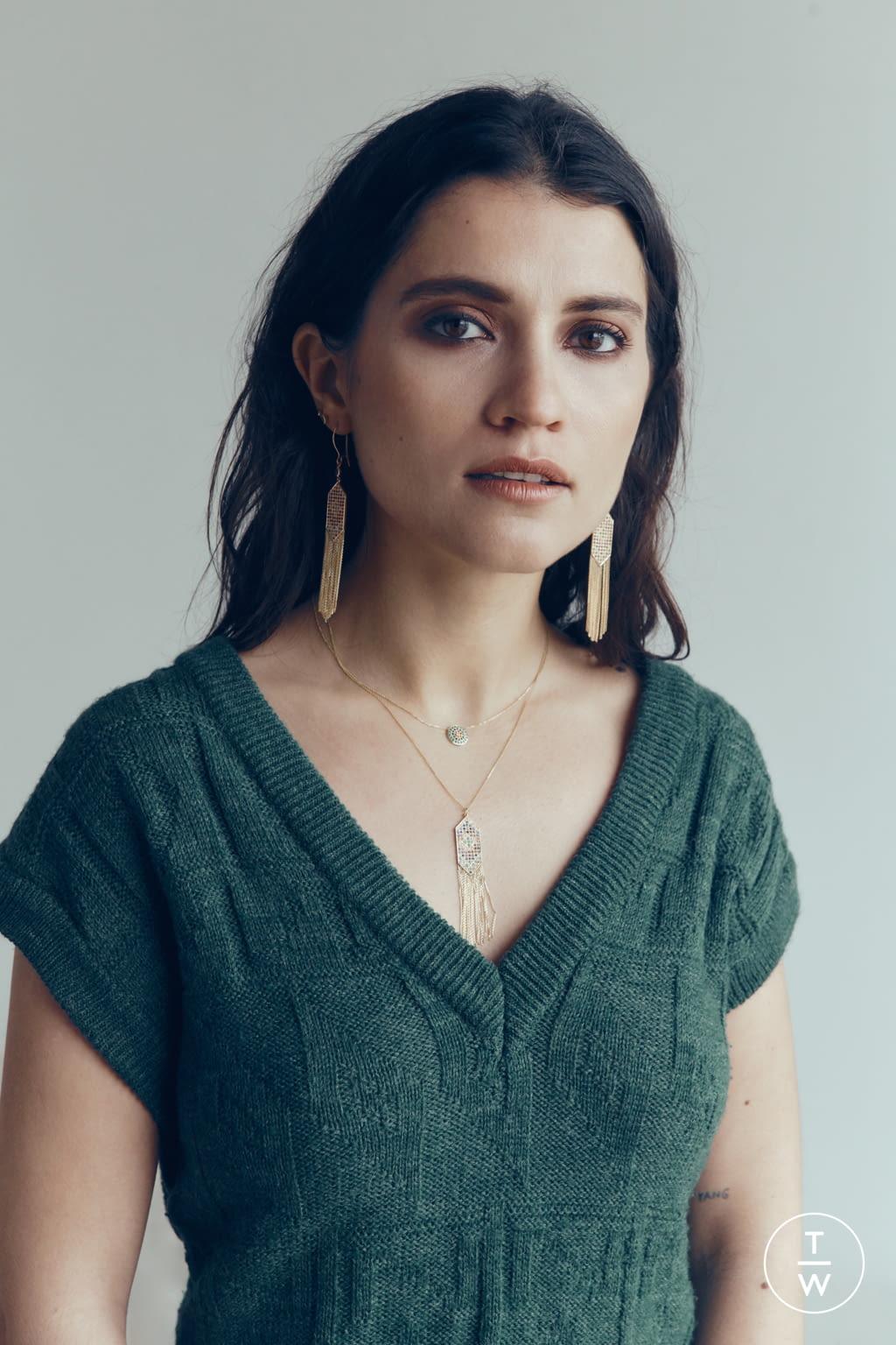 Fashion Week Paris Fall/Winter 2019 look 1 de la collection Sophie d'Agon womenswear accessories