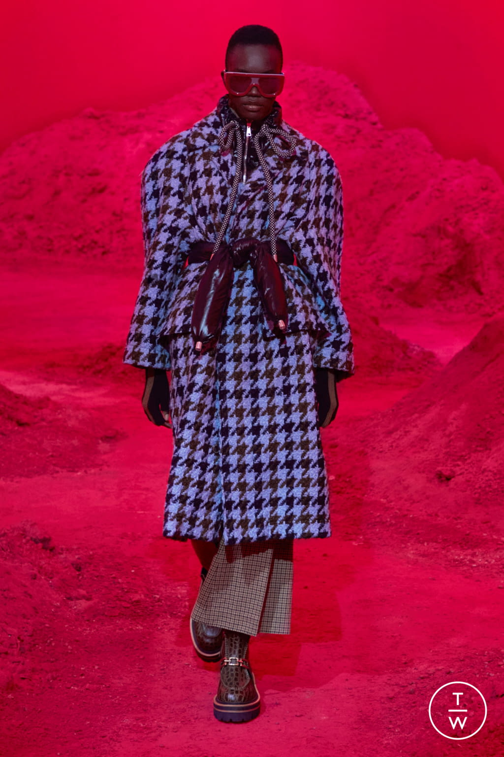 Fashion Week Milan Fall/Winter 2020 look 7 from the 2 Moncler 1952 collection womenswear