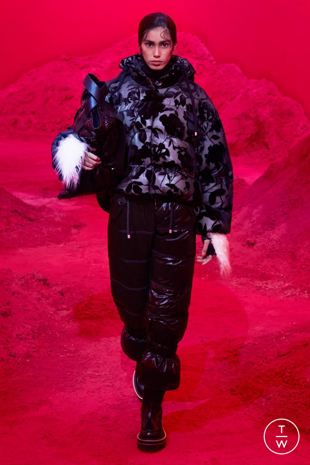 Fashion Week Milan Fall/Winter 2020 look 12 de la collection 2 Moncler 1952 womenswear