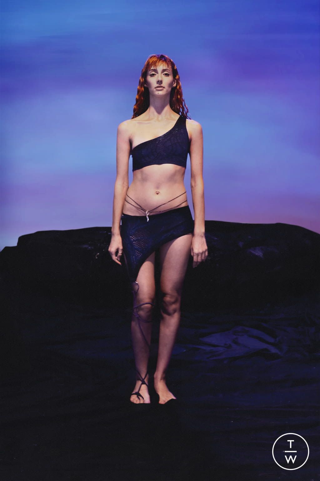 Fashion Week Paris Spring/Summer 2022 look 20 from the Di Petsa collection womenswear