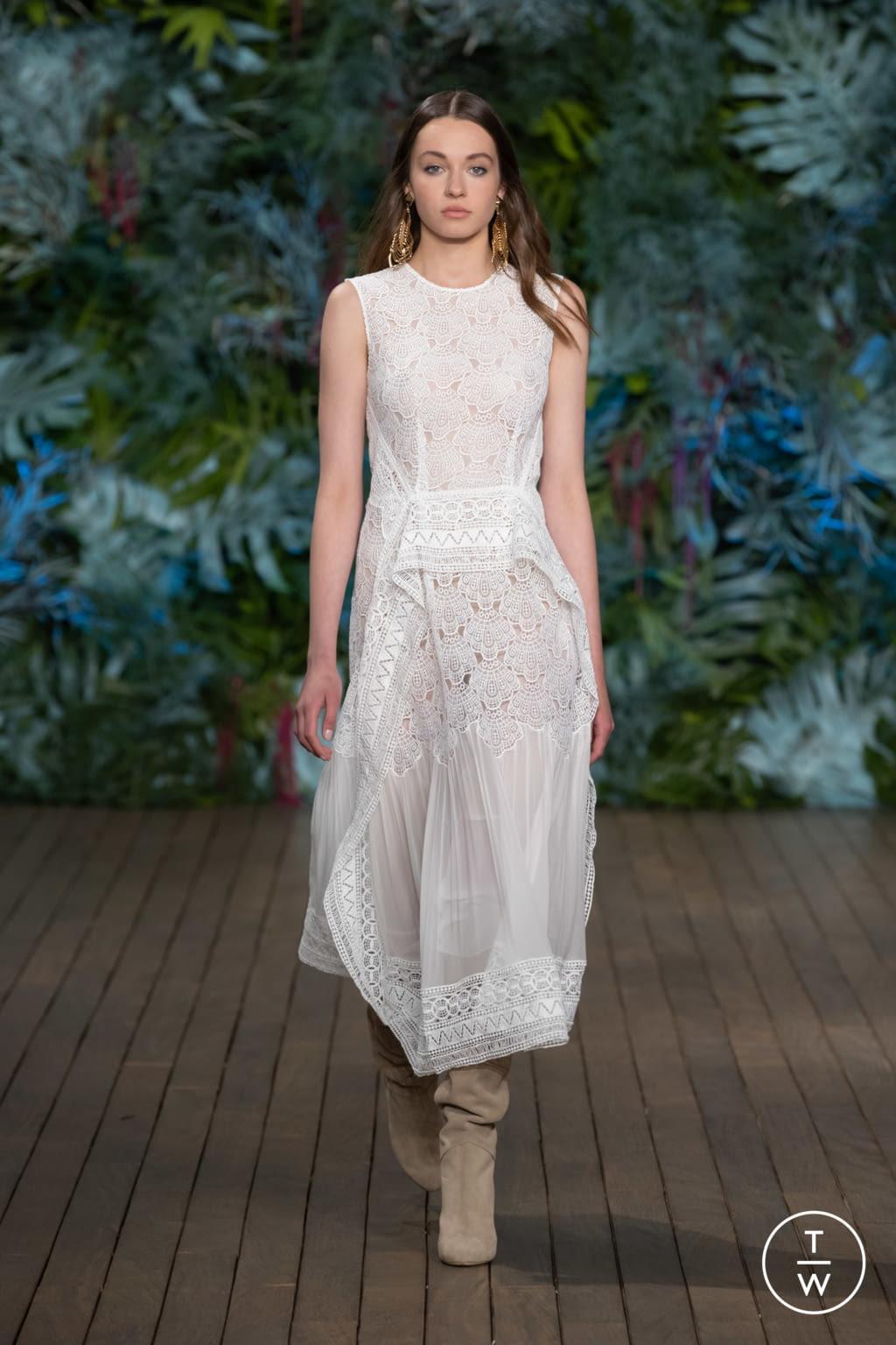 Fashion Week Milan Resort 2020 look 20 from the Alberta Ferretti collection womenswear