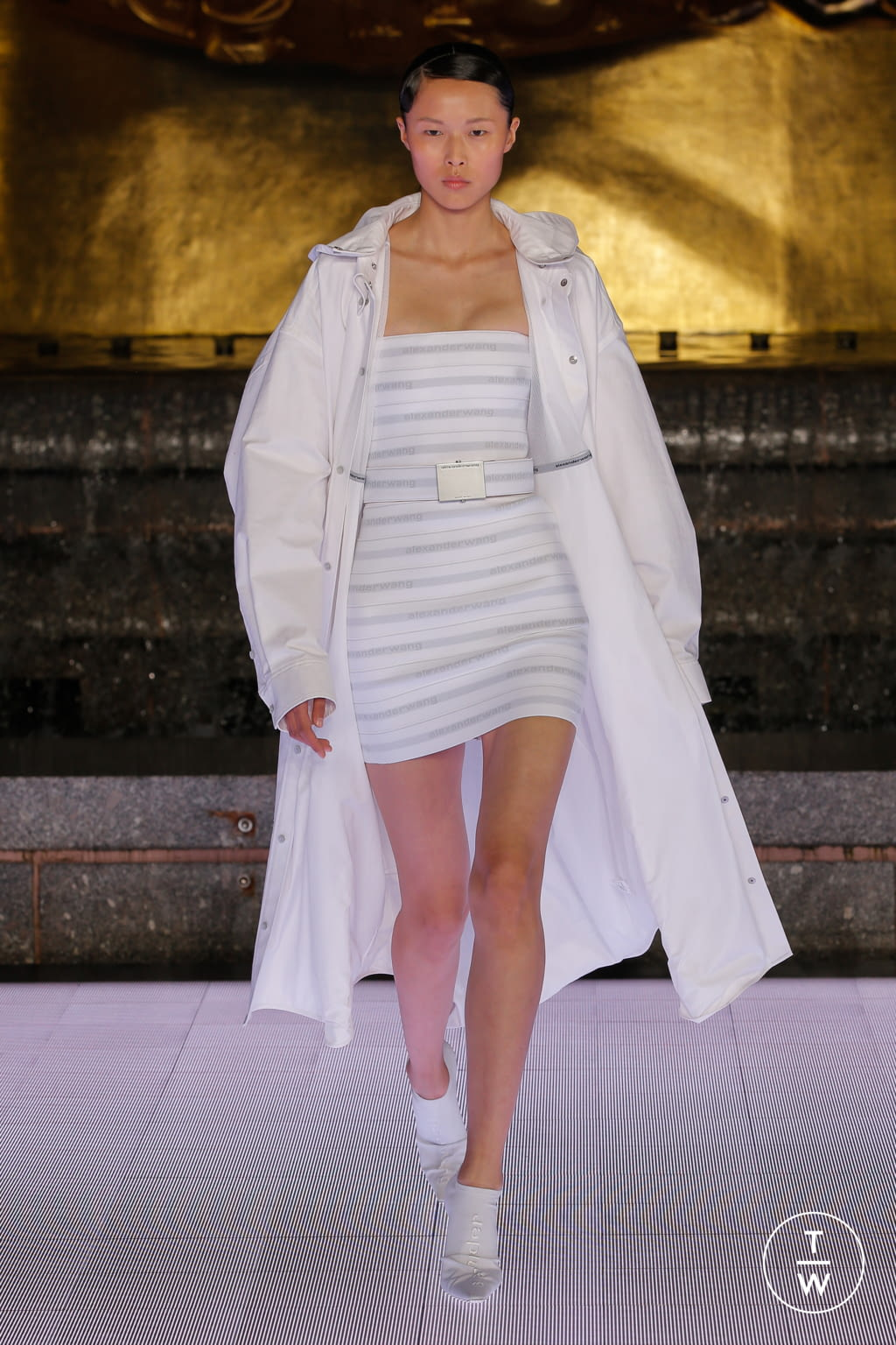 Fashion Week New York Spring/Summer 2020 look 20 from the Alexander Wang collection womenswear