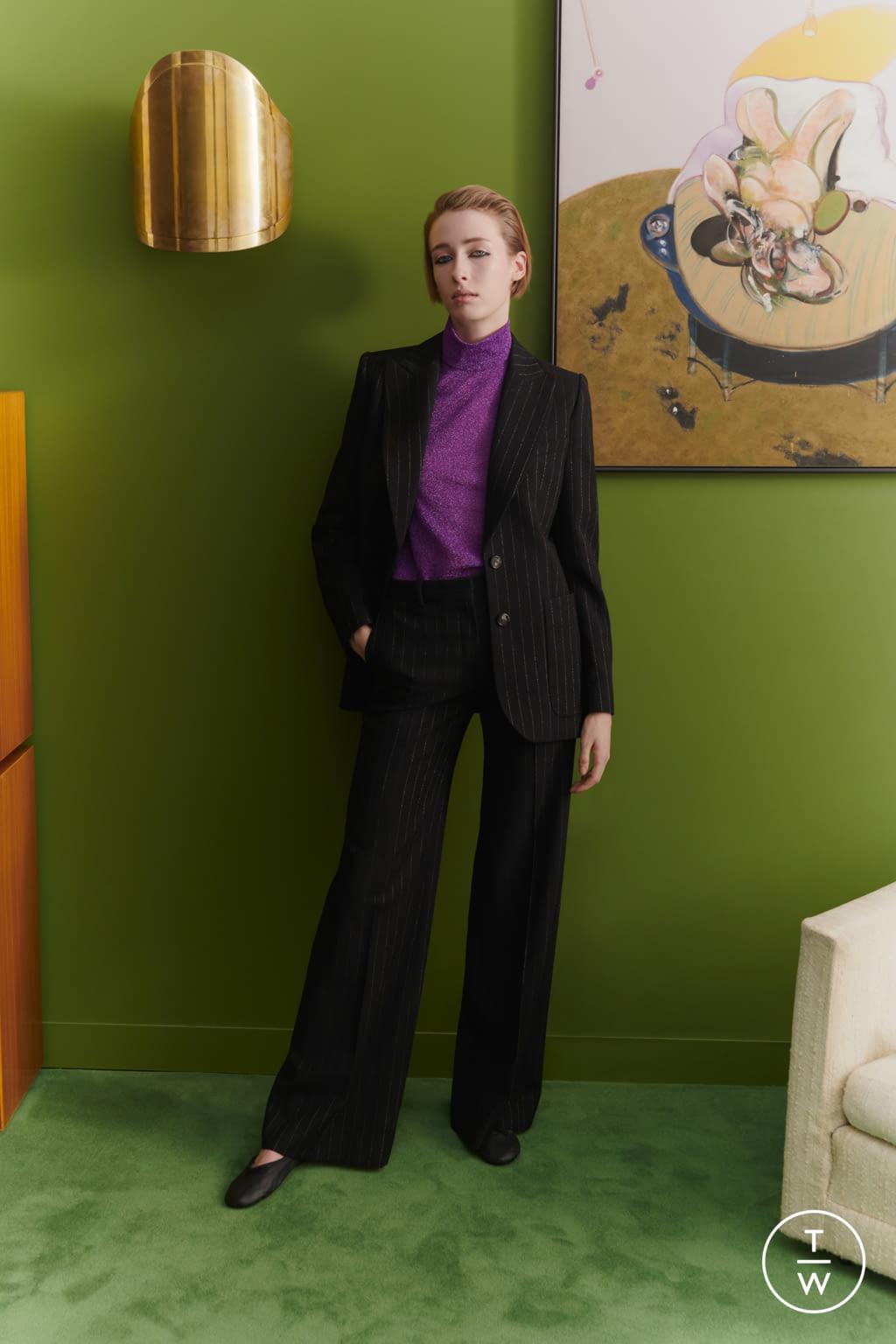 Fashion Week London Fall/Winter 2019 look 12 from the Bella Freud collection womenswear