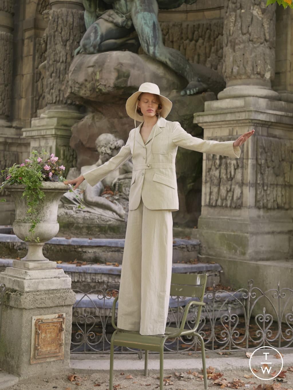 Fashion Week Paris Spring/Summer 2020 look 2 from the DA/DA Diane Ducasse collection womenswear