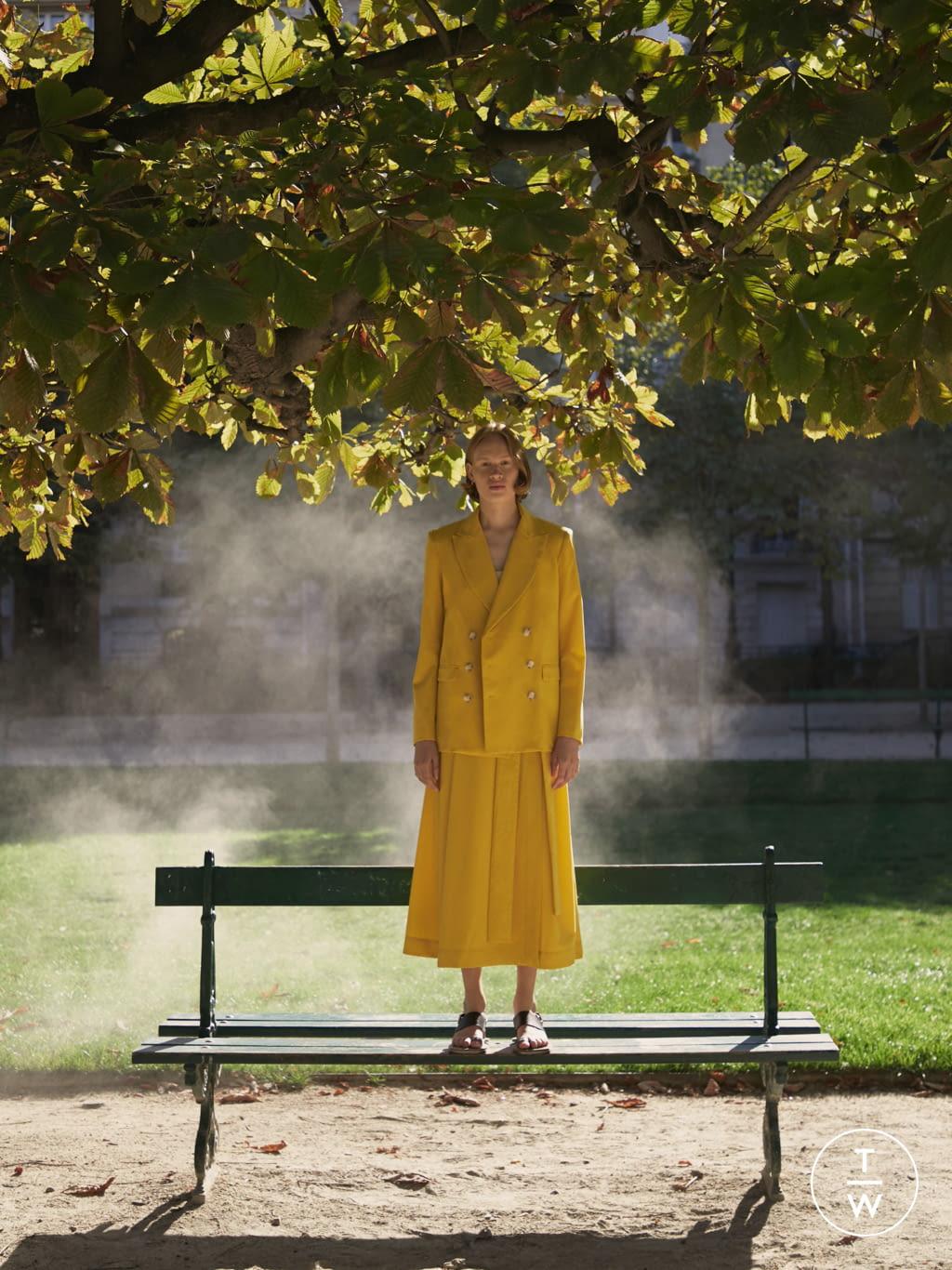 Fashion Week Paris Spring/Summer 2020 look 7 from the DA/DA Diane Ducasse collection womenswear