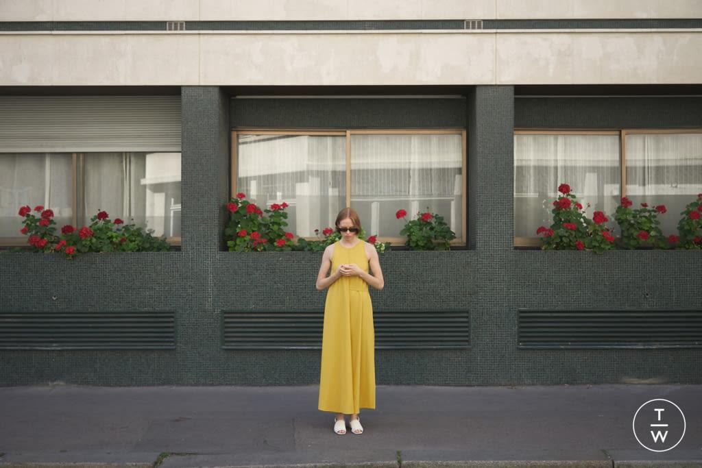 Fashion Week Paris Spring/Summer 2020 look 13 from the DA/DA Diane Ducasse collection womenswear