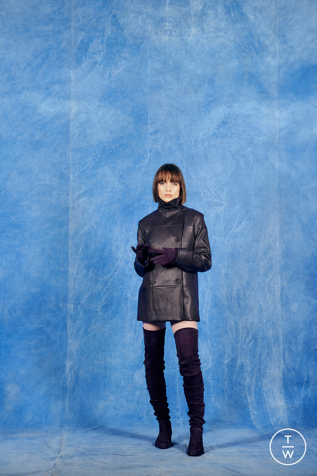 Fashion Week Paris Fall/Winter 2019 look 10 from the Stouls collection 女装