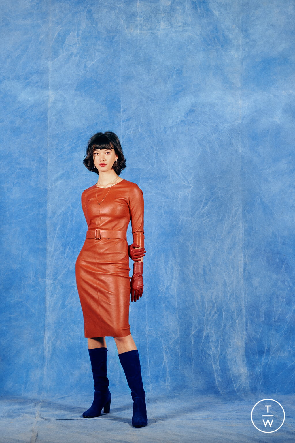 Fashion Week Paris Fall/Winter 2019 look 17 from the Stouls collection 女装