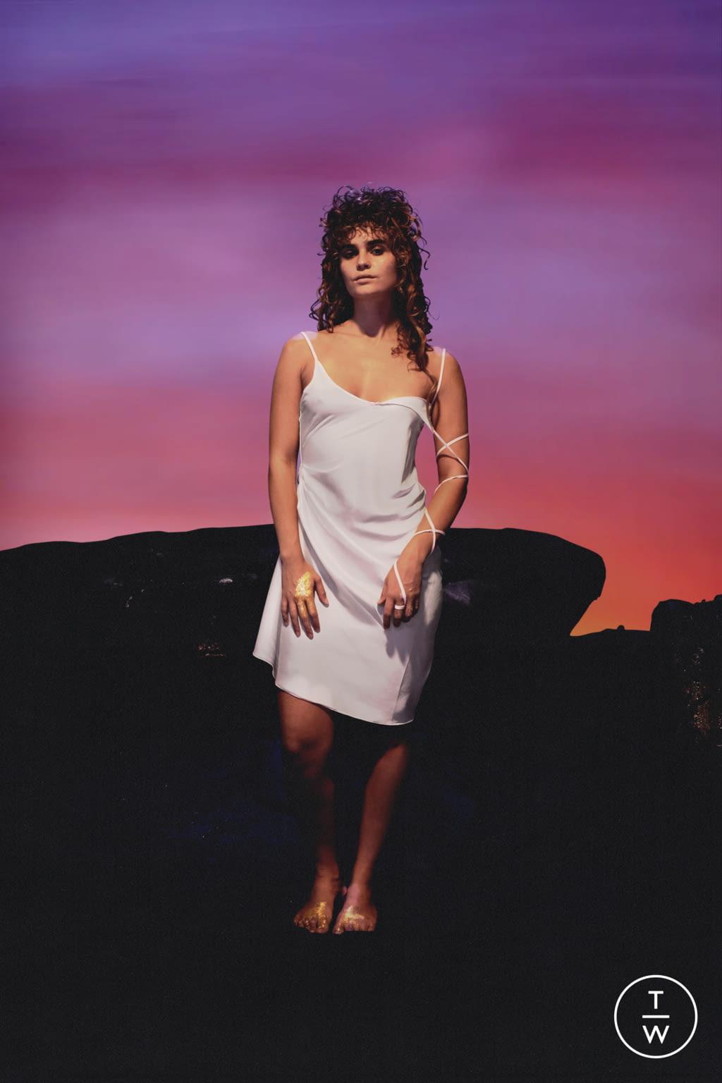 Fashion Week Paris Spring/Summer 2022 look 25 from the Di Petsa collection womenswear