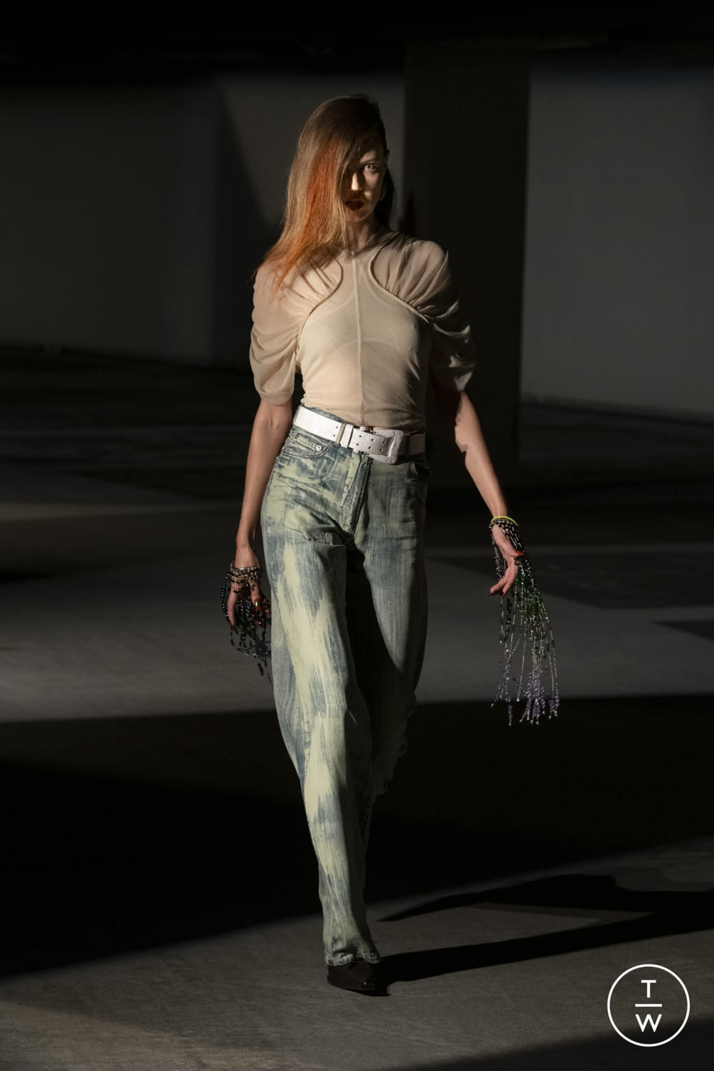 Fashion Week London Spring/Summer 2022 look 29 from the KNWLS collection womenswear