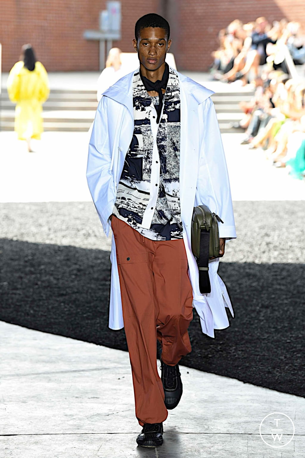 Fashion Week New York Spring/Summer 2020 look 3 de la collection 3.1 Phillip Lim womenswear