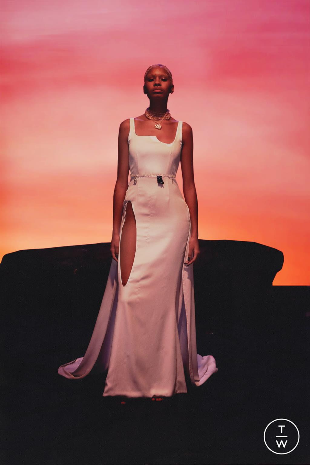 Fashion Week Paris Spring/Summer 2022 look 3 from the Di Petsa collection womenswear