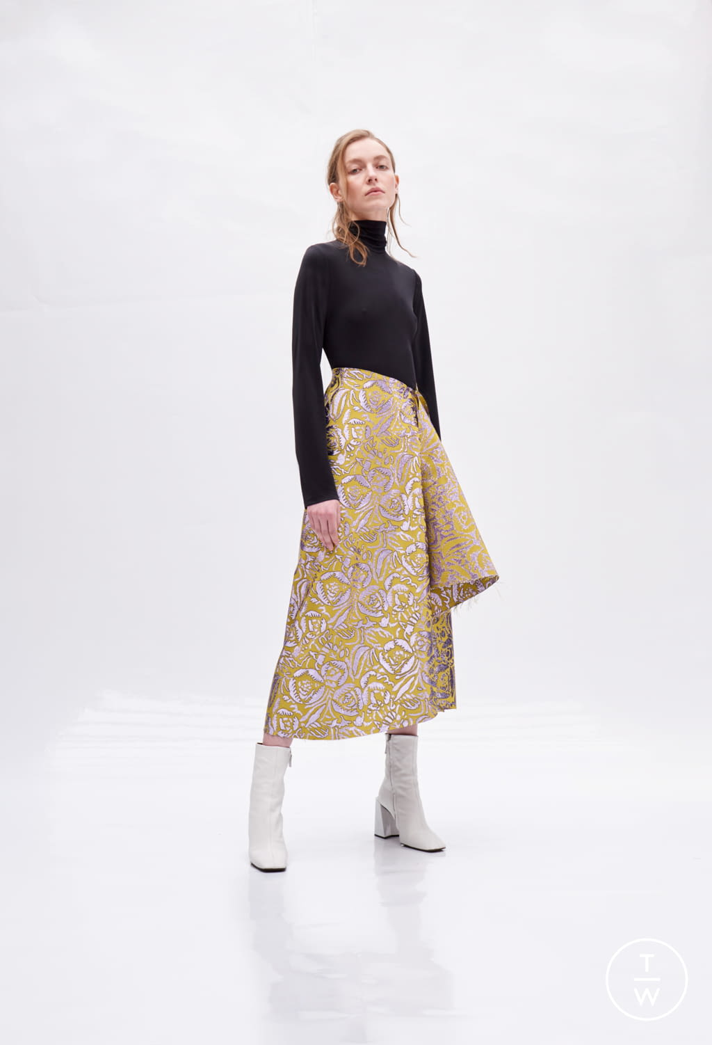 Fashion Week Paris Fall/Winter 2018 look 3 de la collection Patricia Padrón womenswear
