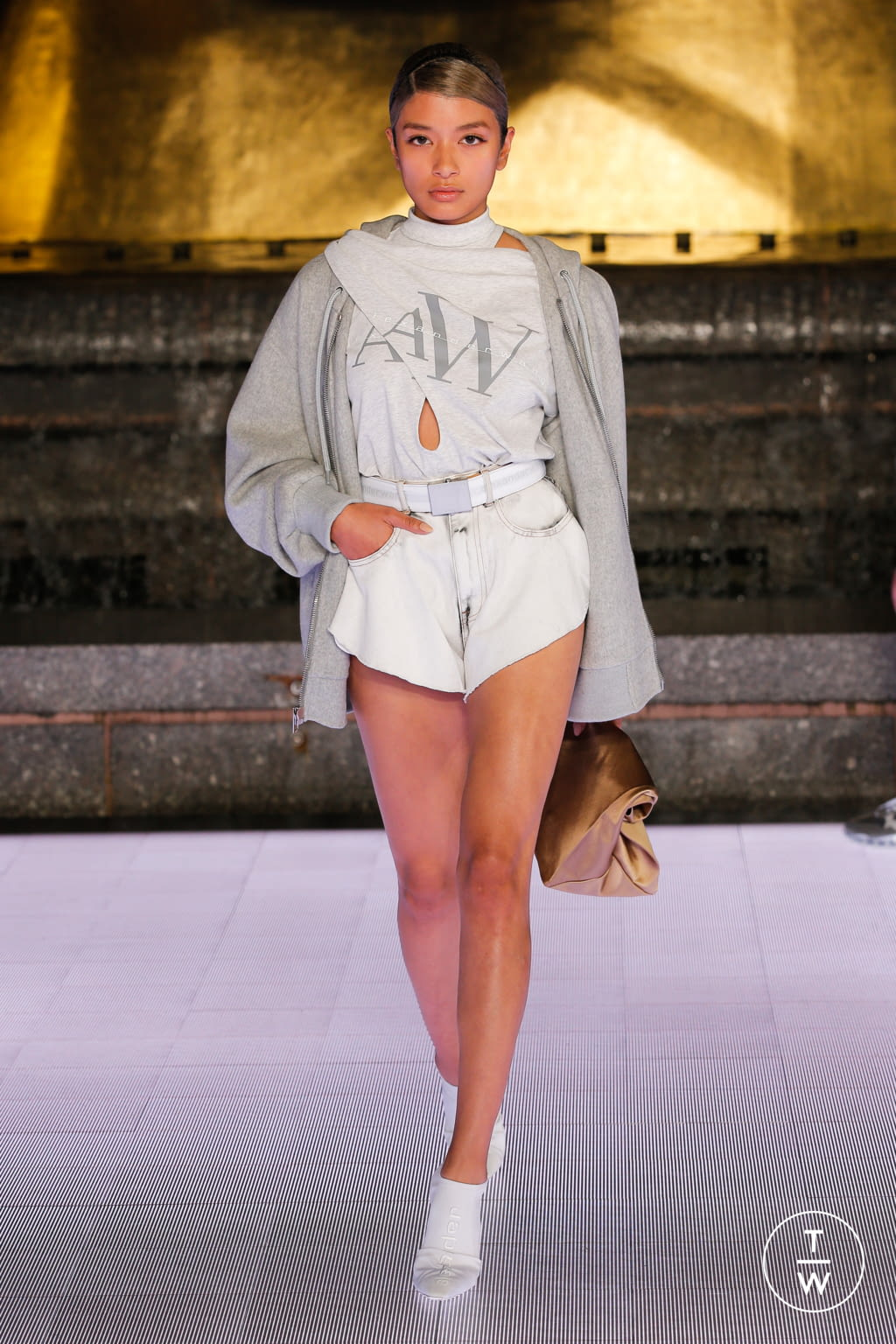 Fashion Week New York Spring/Summer 2020 look 30 from the Alexander Wang collection womenswear
