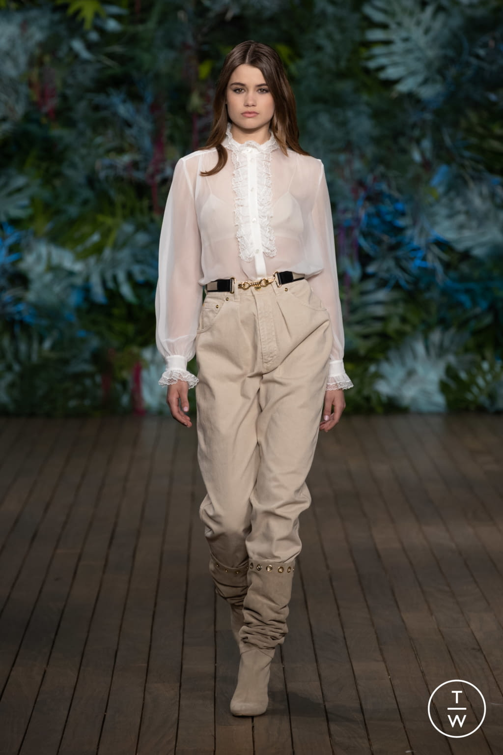 Fashion Week Milan Resort 2020 look 36 de la collection Alberta Ferretti womenswear