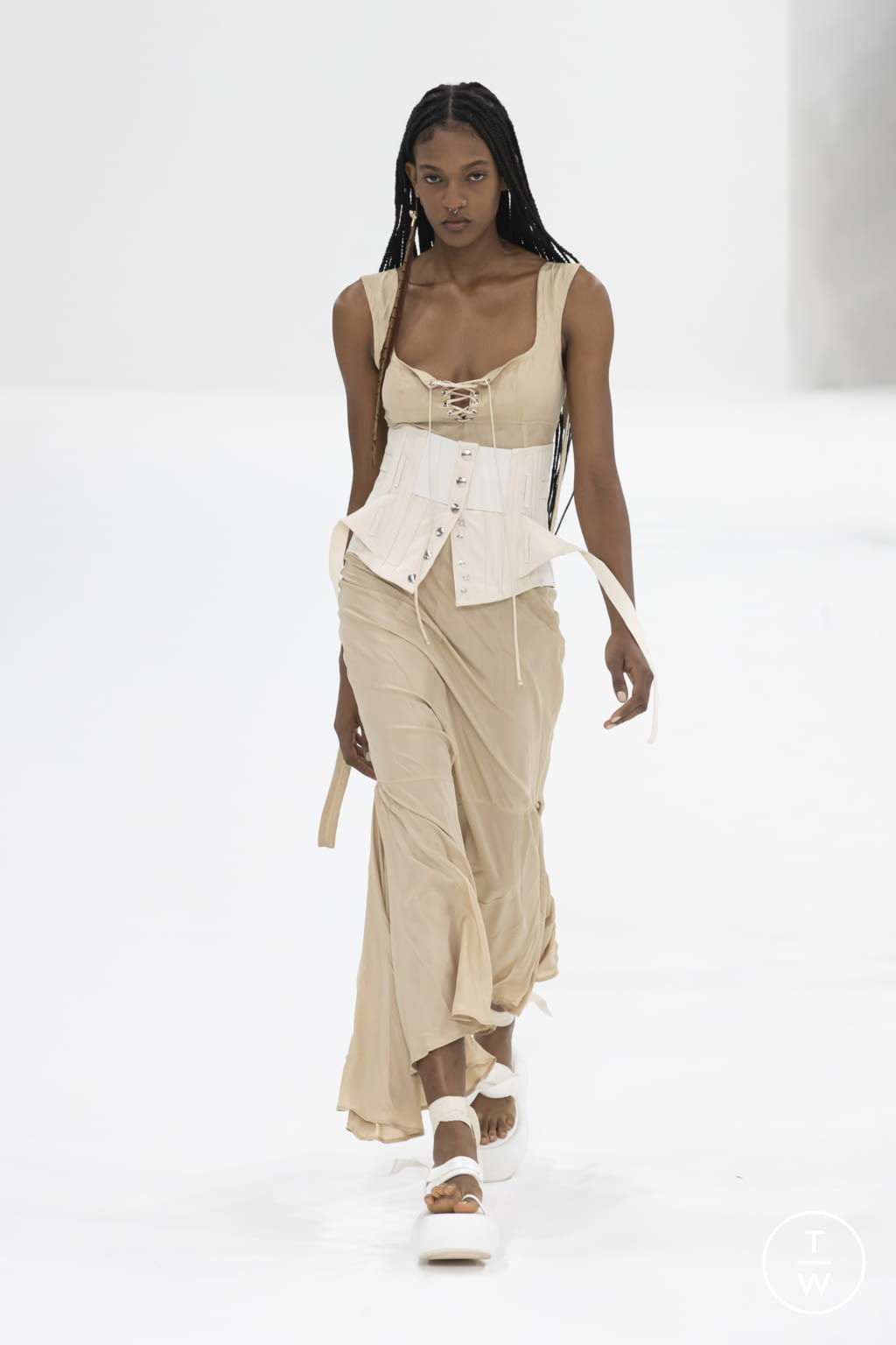 Fashion Week Milan Spring/Summer 2022 look 35 from the Sportmax collection womenswear