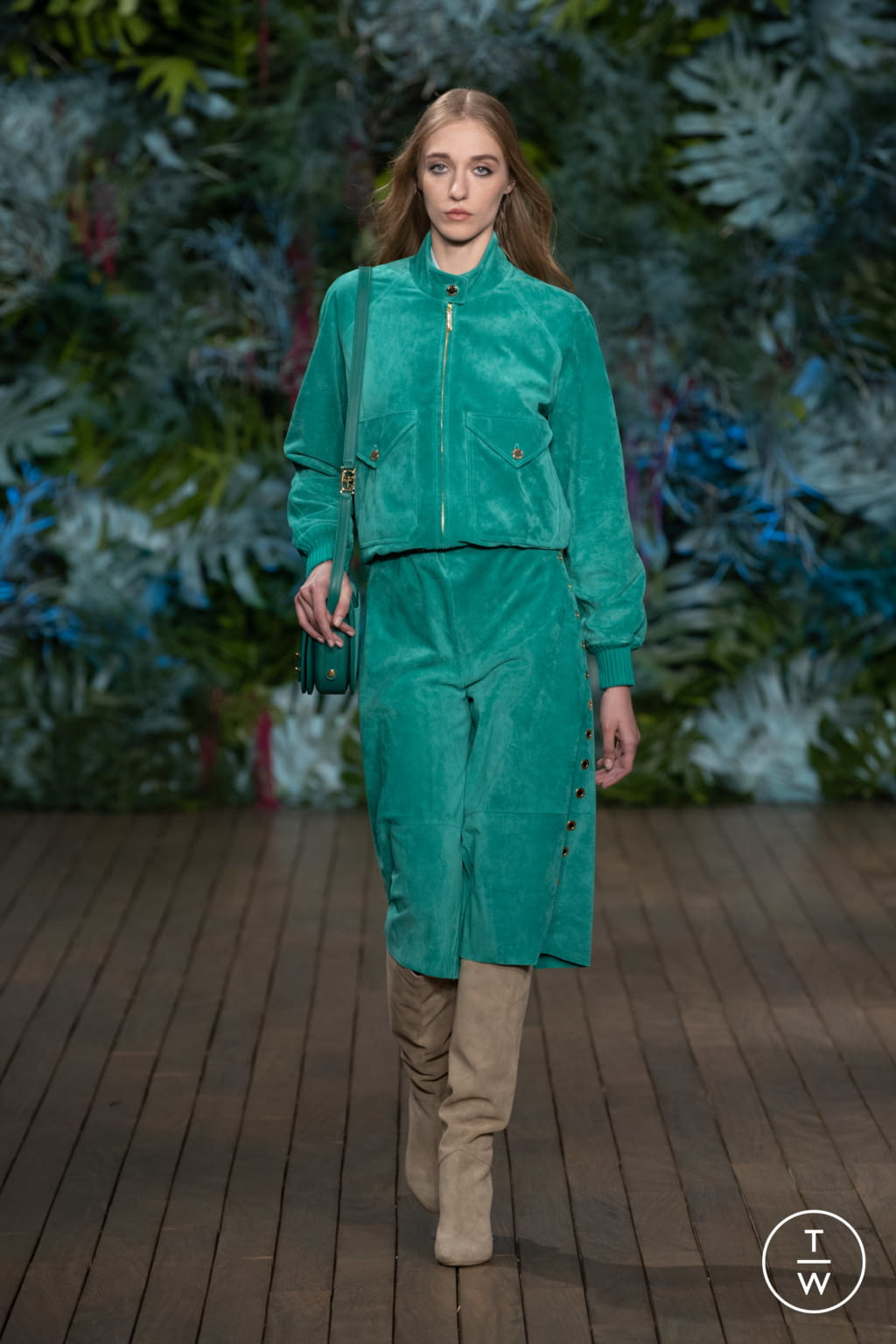 Fashion Week Milan Resort 2020 look 39 from the Alberta Ferretti collection womenswear