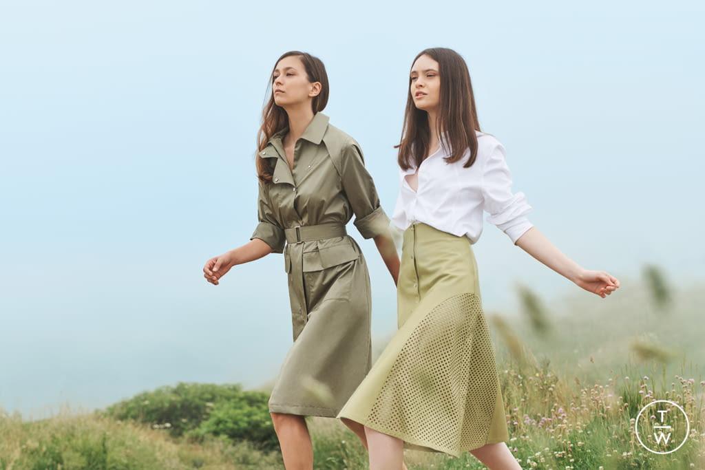 Fashion Week Paris Spring/Summer 2019 look 4 de la collection Maison Ullens womenswear