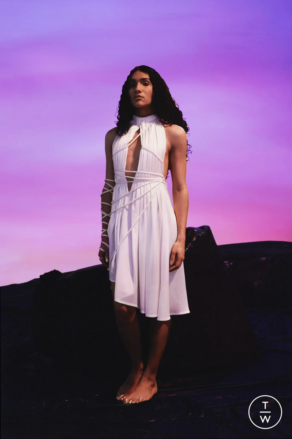 Fashion Week Paris Spring/Summer 2022 look 4 from the Di Petsa collection womenswear