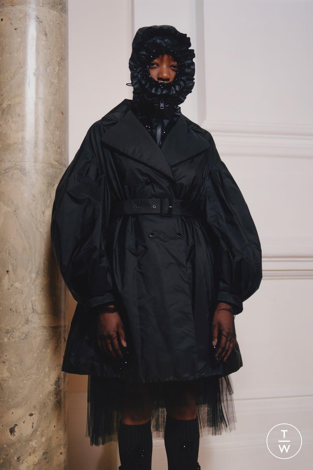 Fashion Week Milan Fall/Winter 2020 look 6 from the 4 Moncler Simone Rocha collection womenswear