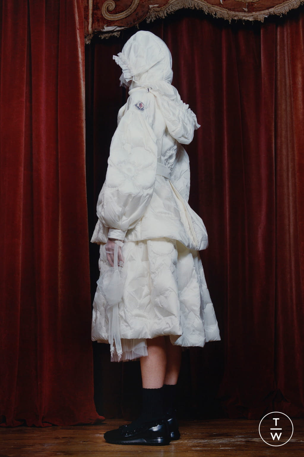 Fashion Week Milan Fall/Winter 2020 look 8 de la collection 4 Moncler Simone Rocha womenswear