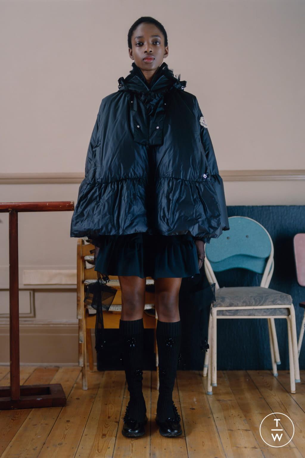 Fashion Week Milan Fall/Winter 2020 look 9 from the 4 Moncler Simone Rocha collection womenswear