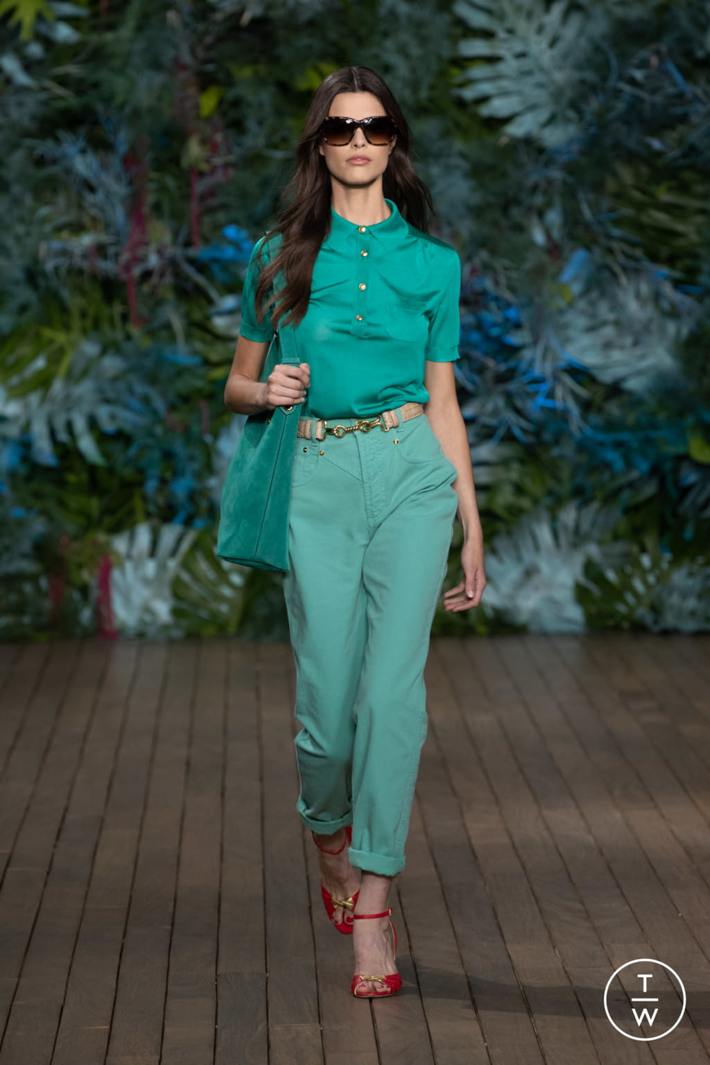 Fashion Week Milan Resort 2020 look 41 from the Alberta Ferretti collection womenswear