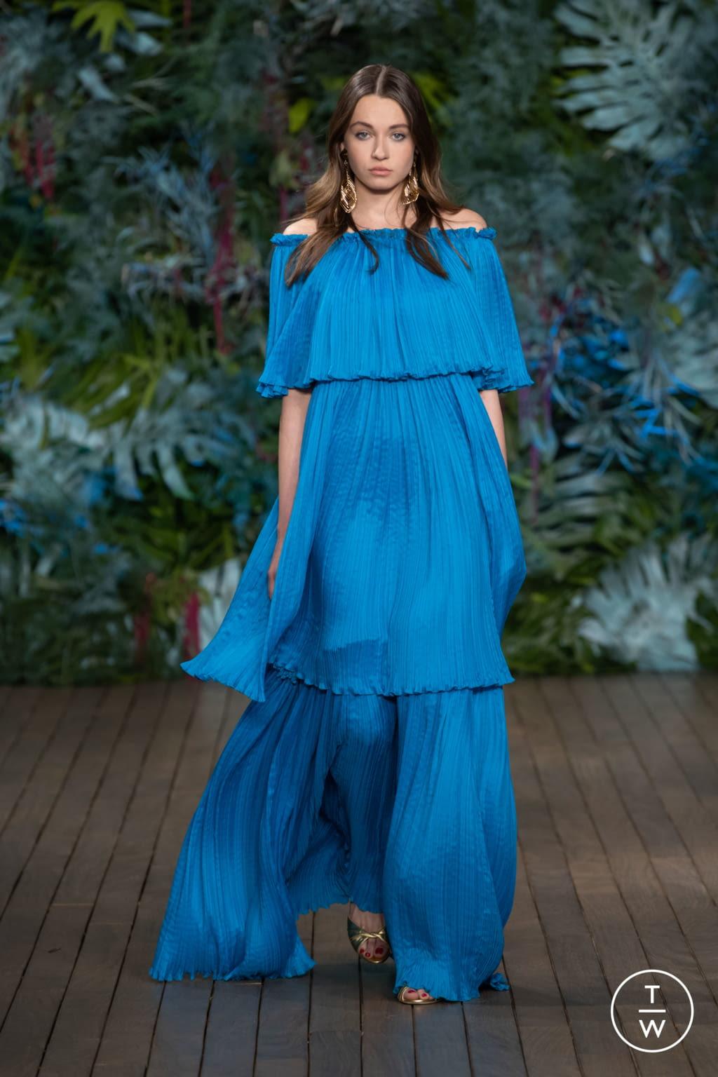 Fashion Week Milan Resort 2020 look 45 from the Alberta Ferretti collection 女装
