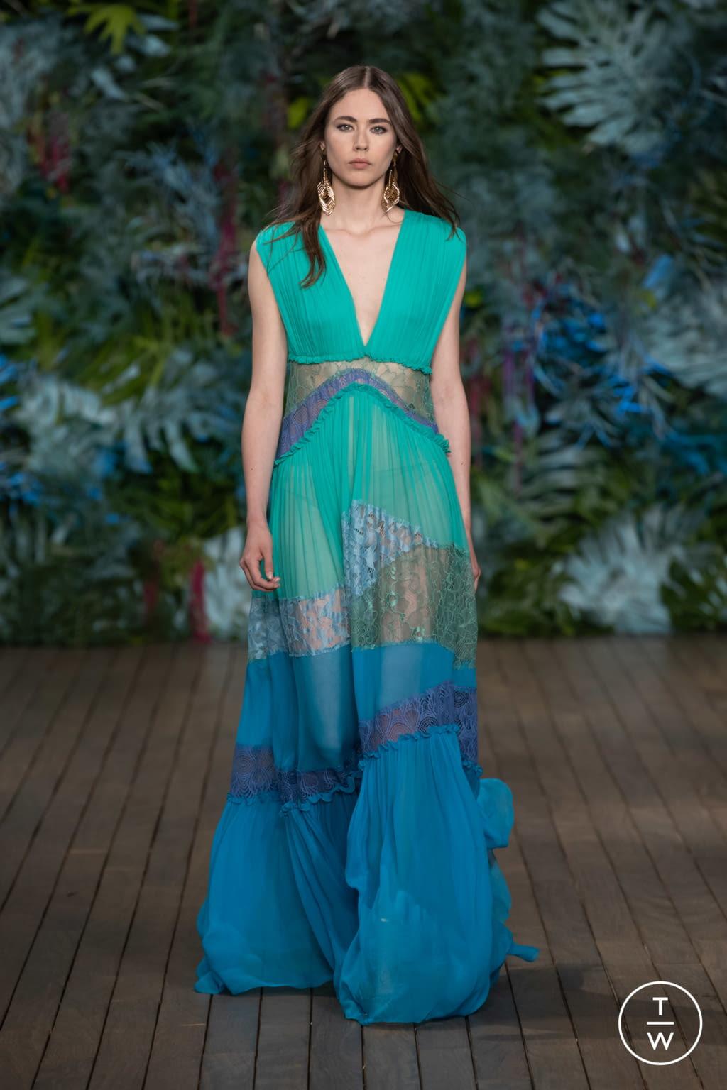 Fashion Week Milan Resort 2020 look 48 from the Alberta Ferretti collection womenswear