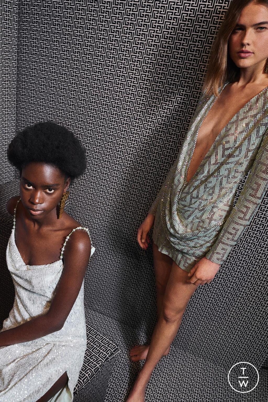 Fashion Week Paris Pre-Fall 2021 look 49 from the Balmain collection womenswear