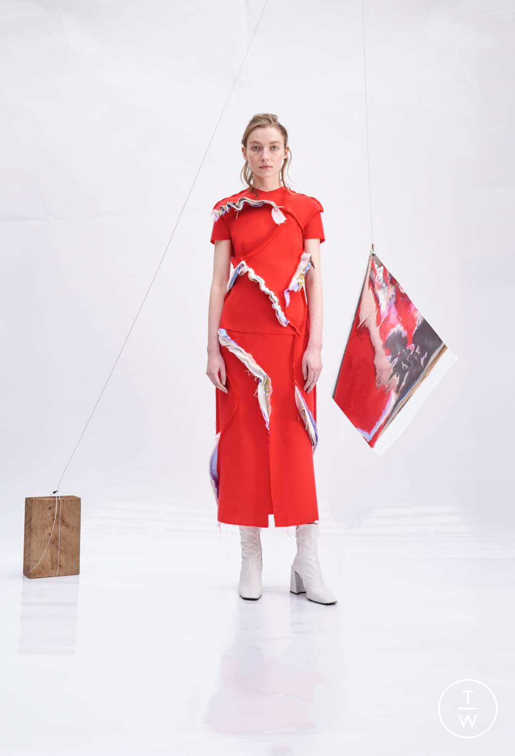Fashion Week Paris Fall/Winter 2018 look 5 de la collection Patricia Padrón womenswear