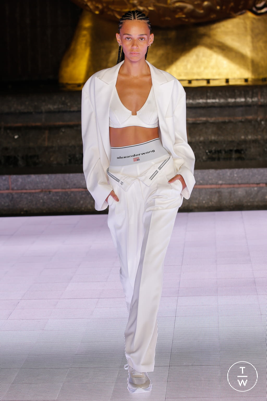 Fashion Week New York Spring/Summer 2020 look 51 from the Alexander Wang collection womenswear