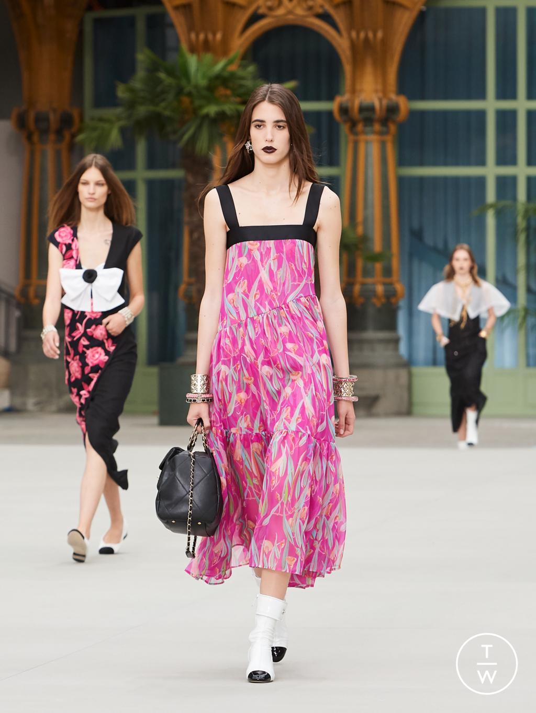 Fashion Week Paris Resort 2020 look 56 de la collection Chanel womenswear