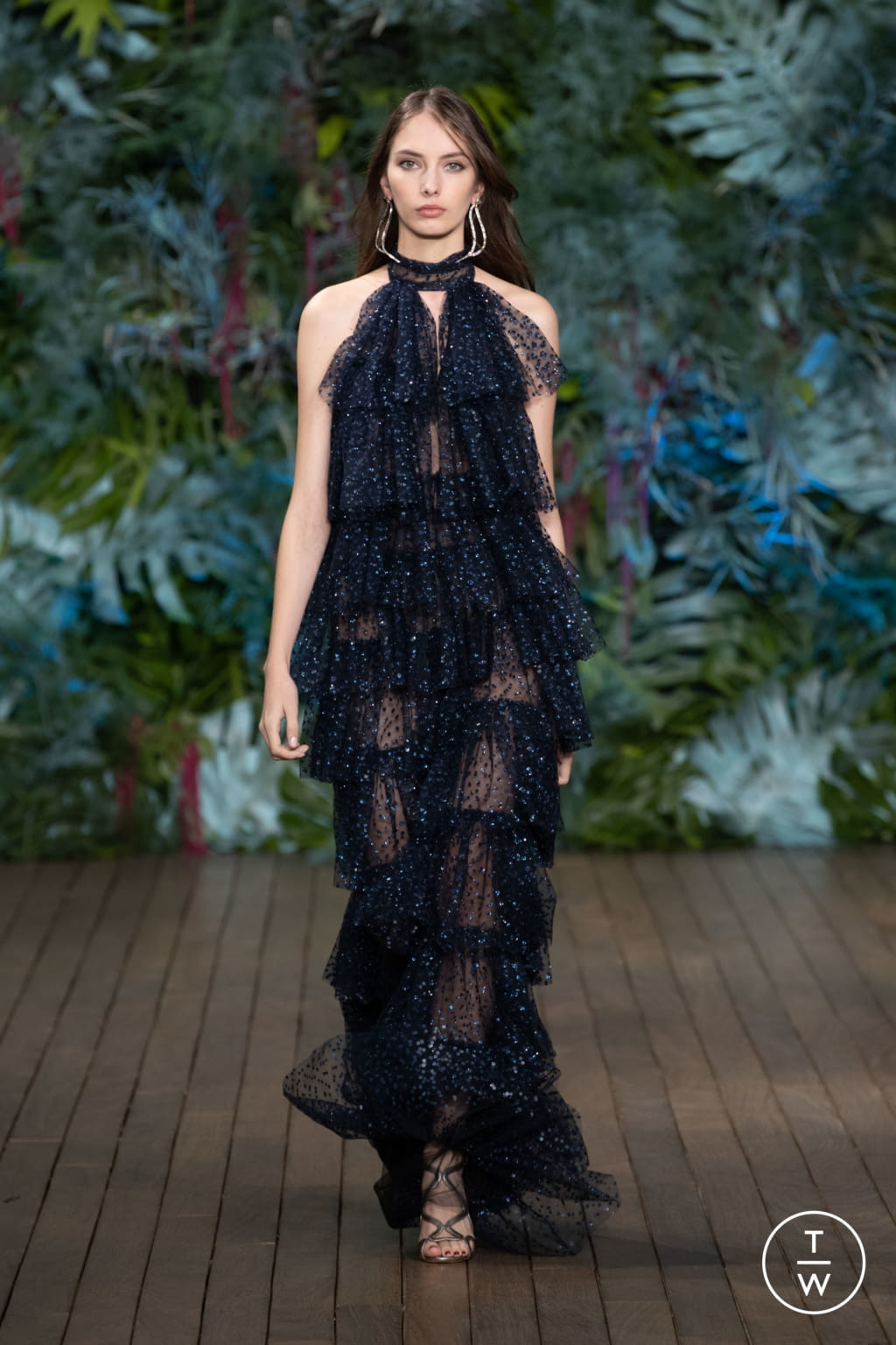 Fashion Week Milan Resort 2020 look 56 from the Alberta Ferretti collection womenswear
