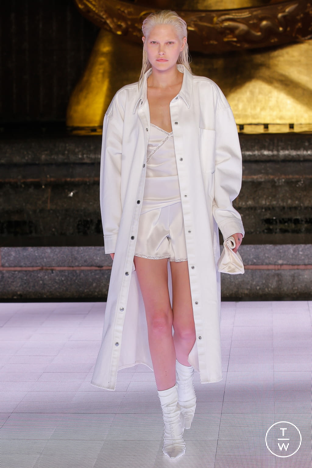 Fashion Week New York Spring/Summer 2020 look 56 from the Alexander Wang collection womenswear
