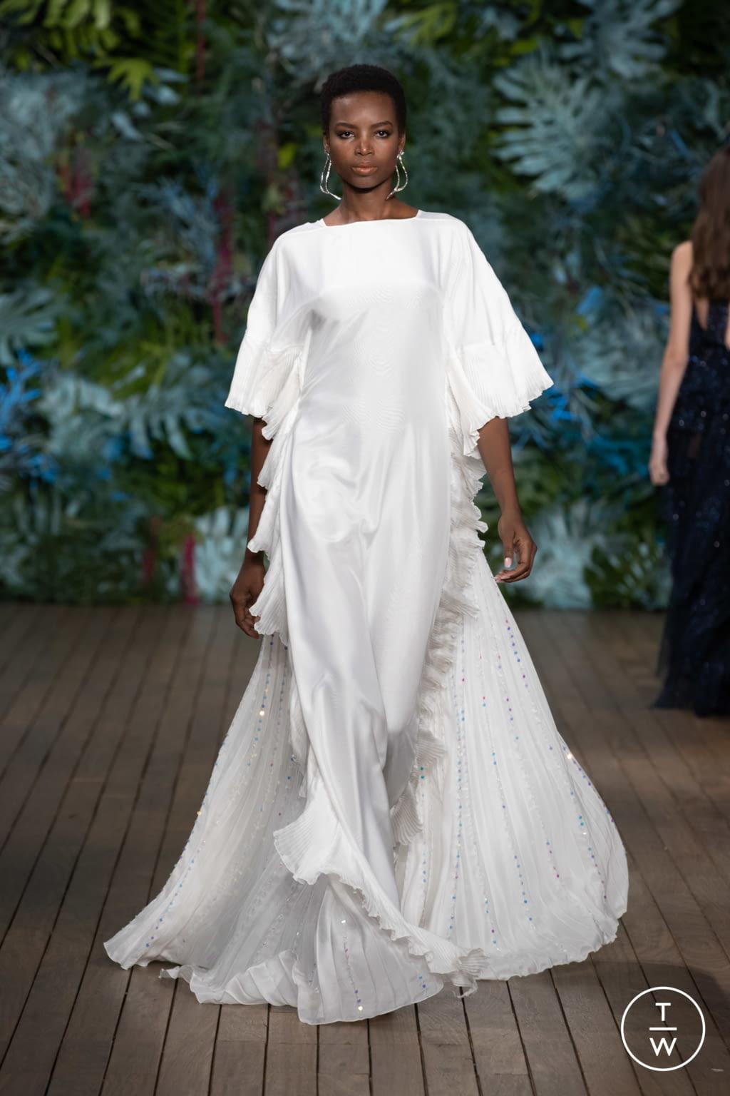 Fashion Week Milan Resort 2020 look 57 from the Alberta Ferretti collection womenswear