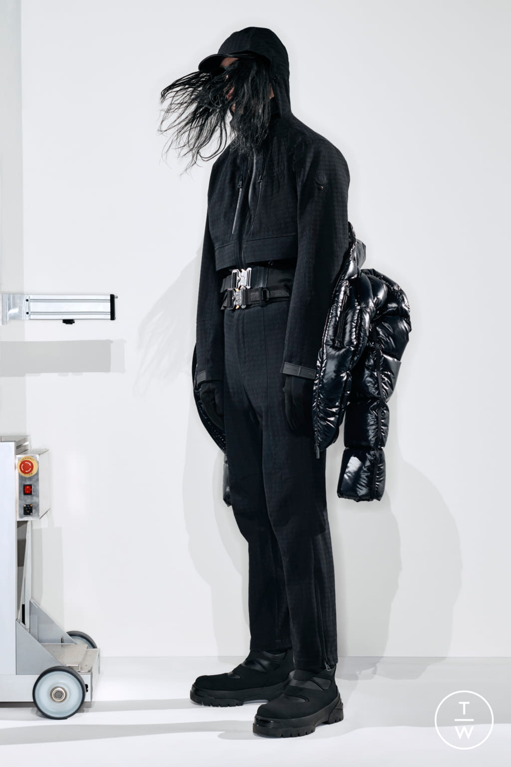 Fashion Week Milan Fall/Winter 2020 look 1 from the 6 Moncler 1017 Alyx 9SM collection womenswear