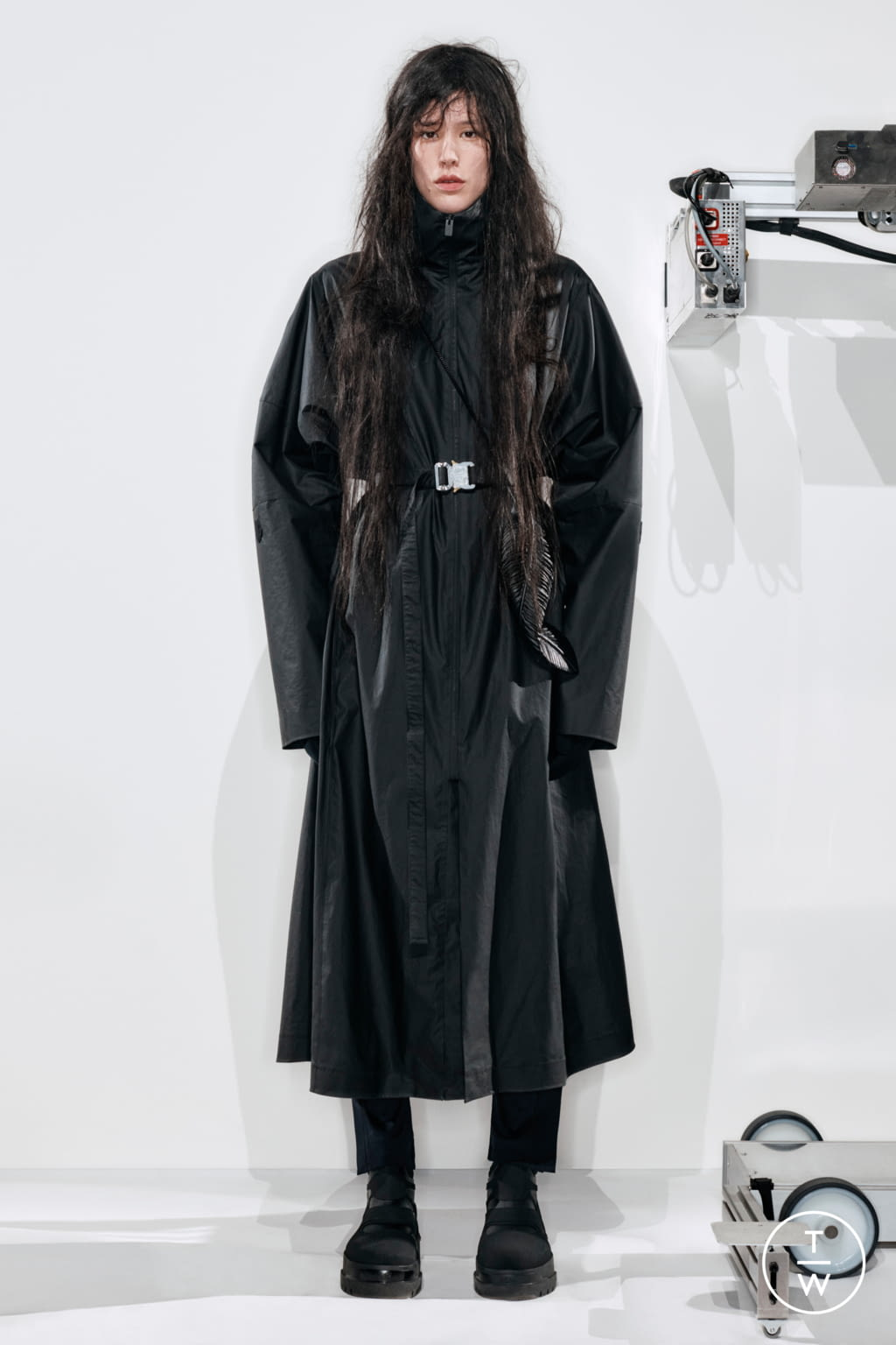 Fashion Week Milan Fall/Winter 2020 look 8 from the 6 Moncler 1017 Alyx 9SM collection womenswear