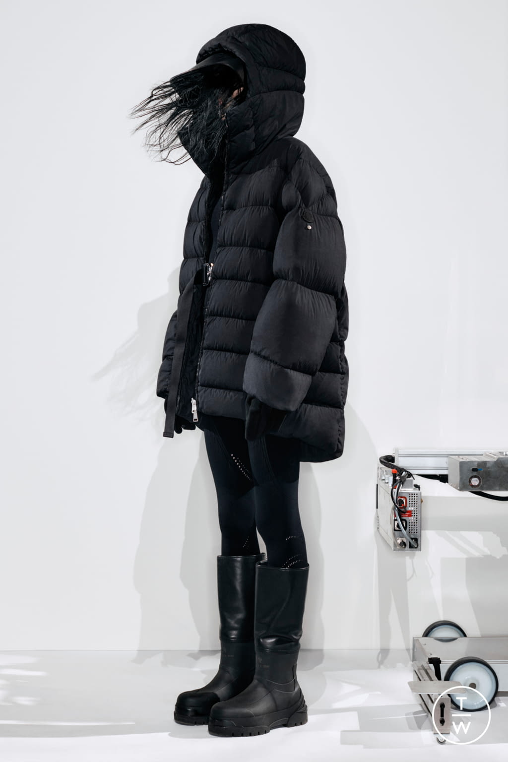 Fashion Week Milan Fall/Winter 2020 look 12 from the 6 Moncler 1017 Alyx 9SM collection womenswear