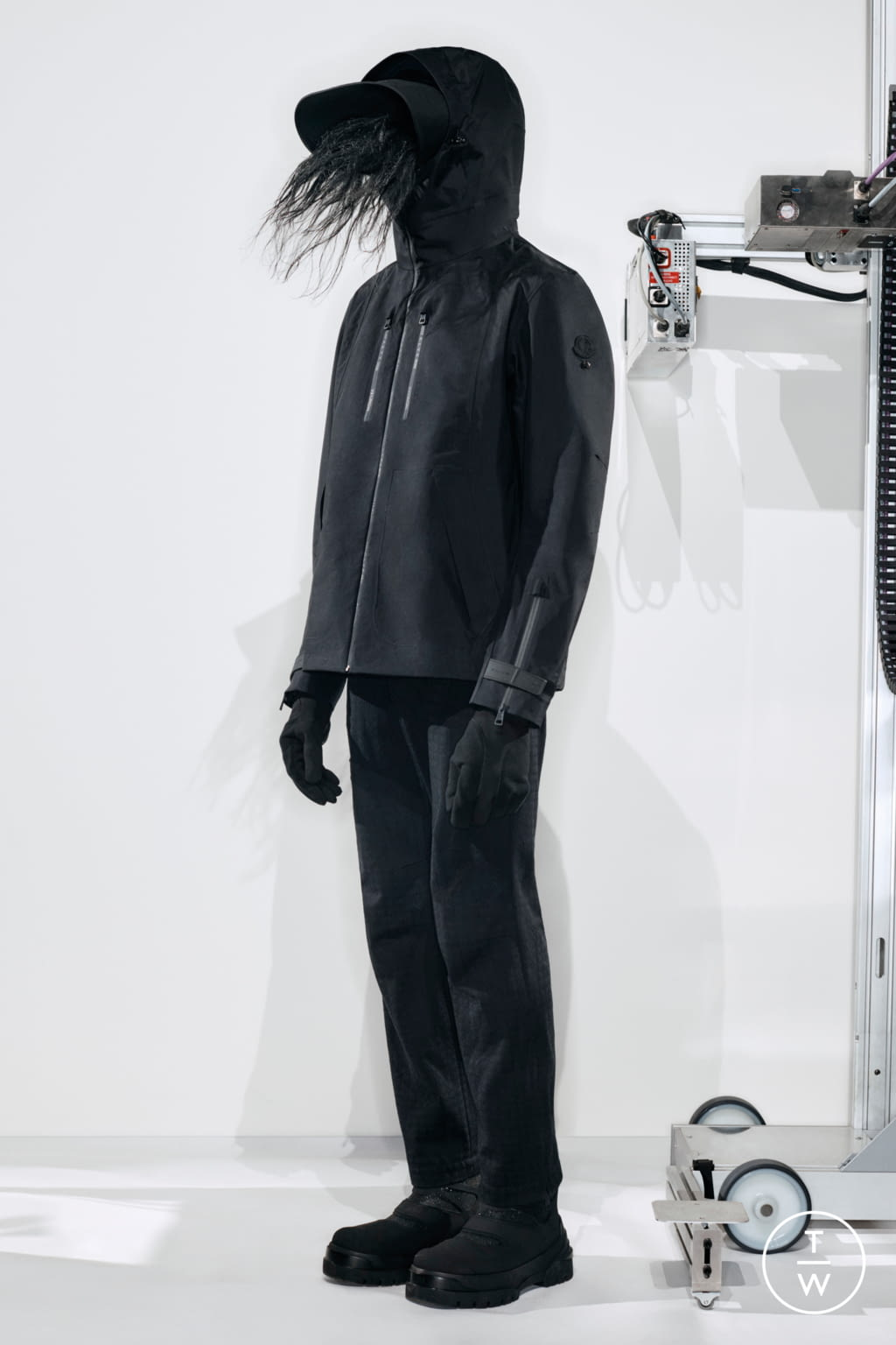 Fashion Week Milan Fall/Winter 2020 look 17 from the 6 Moncler 1017 Alyx 9SM collection womenswear