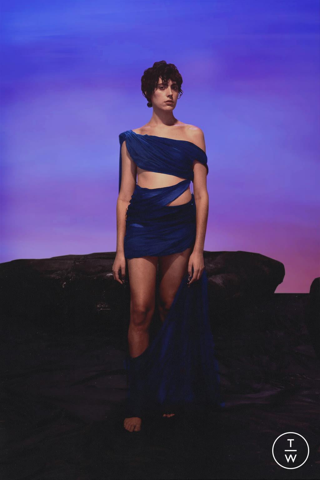 Fashion Week Paris Spring/Summer 2022 look 7 from the Di Petsa collection womenswear