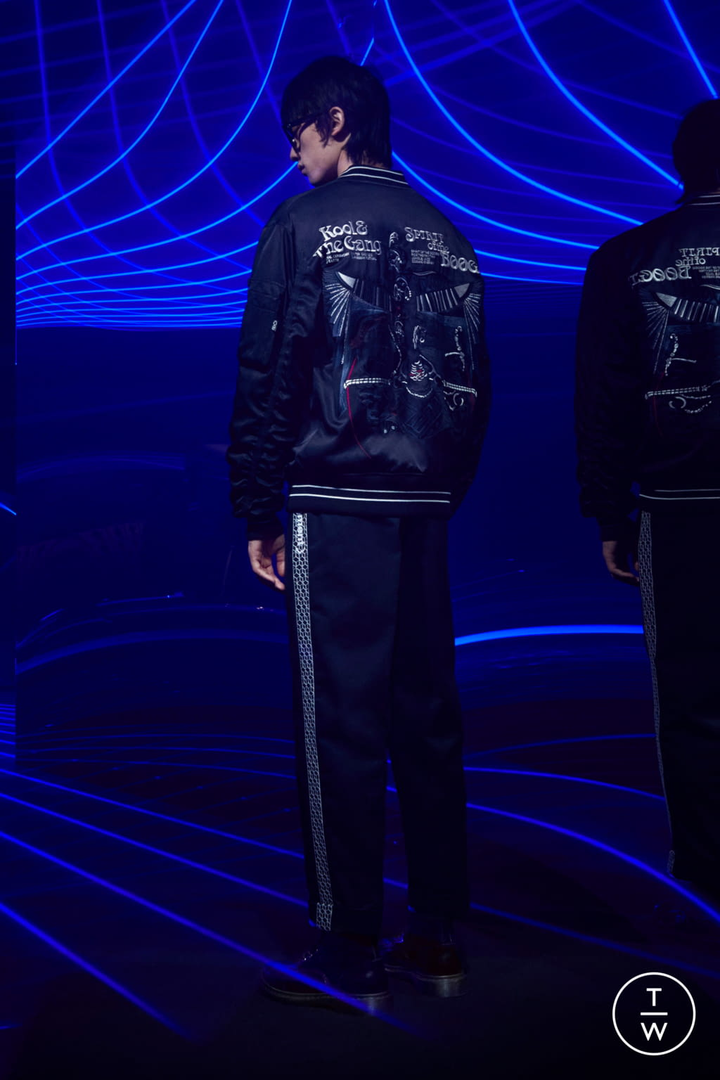 Fashion Week Milan Fall/Winter 2020 look 3 from the 7 Moncler Fragment Hiroshi Fujiwara collection menswear