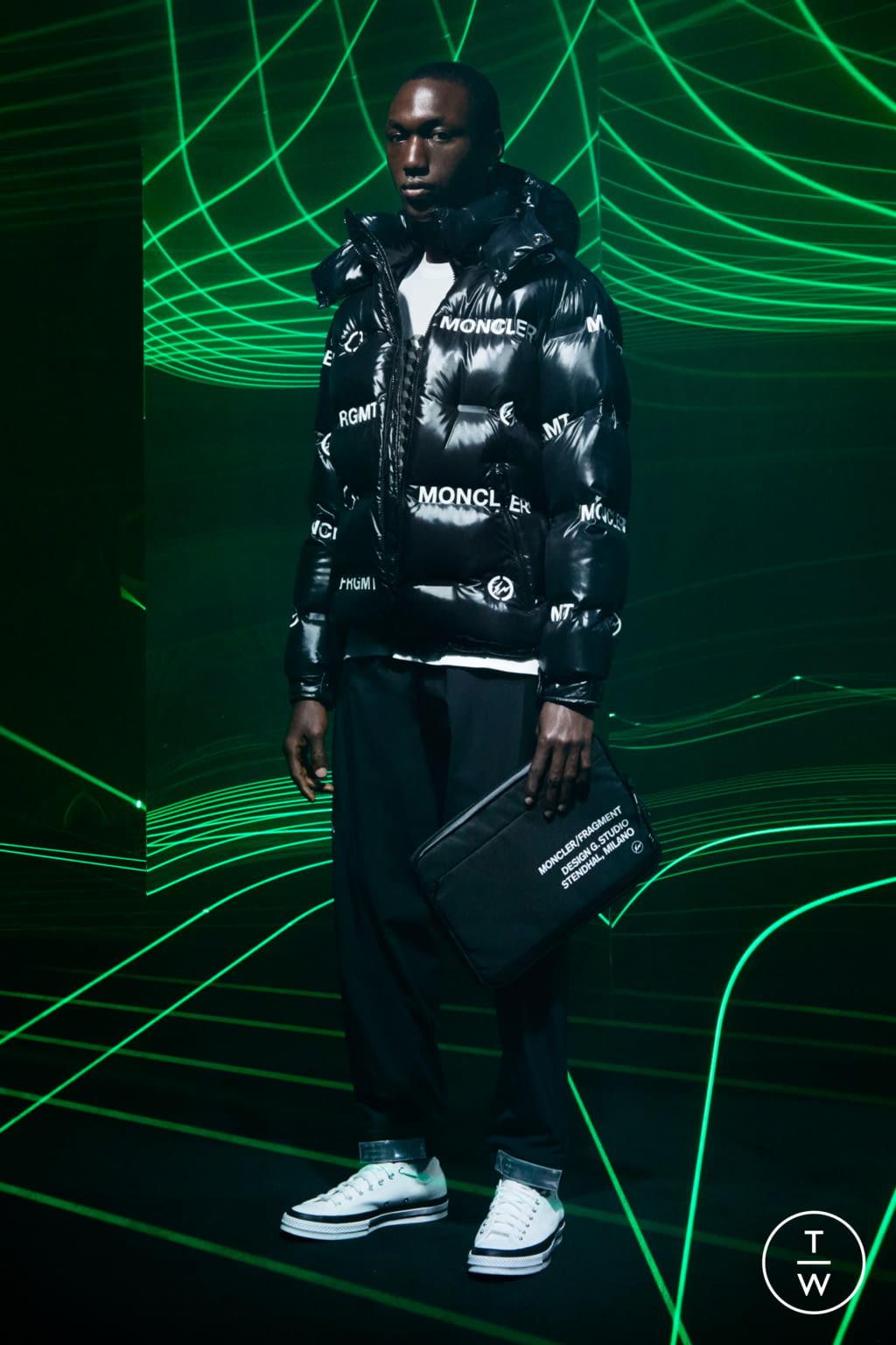 Fashion Week Milan Fall/Winter 2020 look 9 from the 7 Moncler Fragment Hiroshi Fujiwara collection menswear