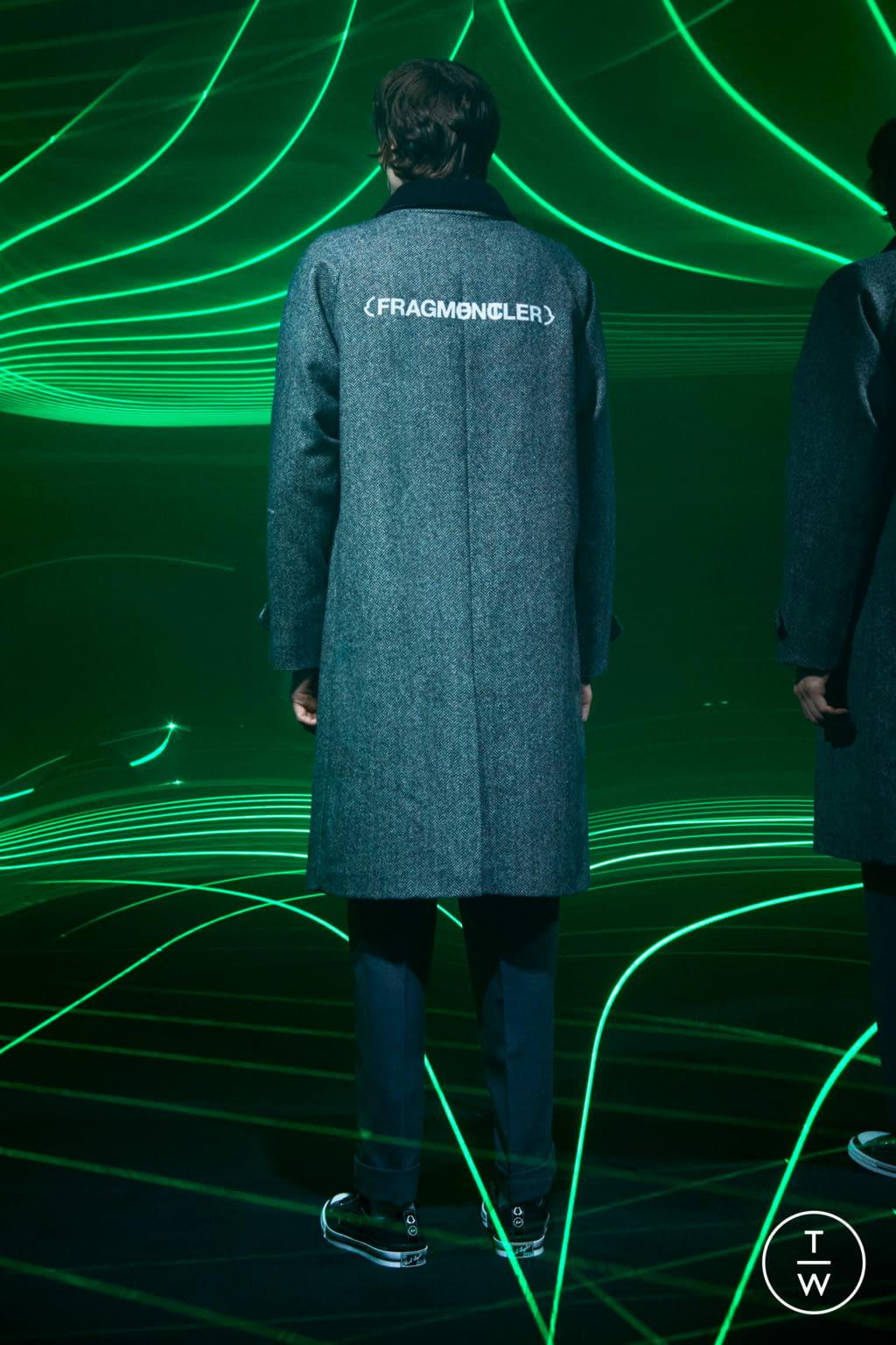 Fashion Week Milan Fall/Winter 2020 look 12 from the 7 Moncler Fragment Hiroshi Fujiwara collection menswear