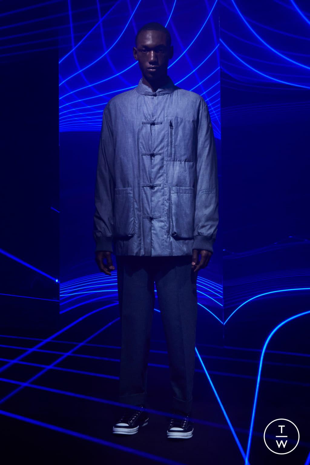 Fashion Week Milan Fall/Winter 2020 look 15 from the 7 Moncler Fragment Hiroshi Fujiwara collection menswear