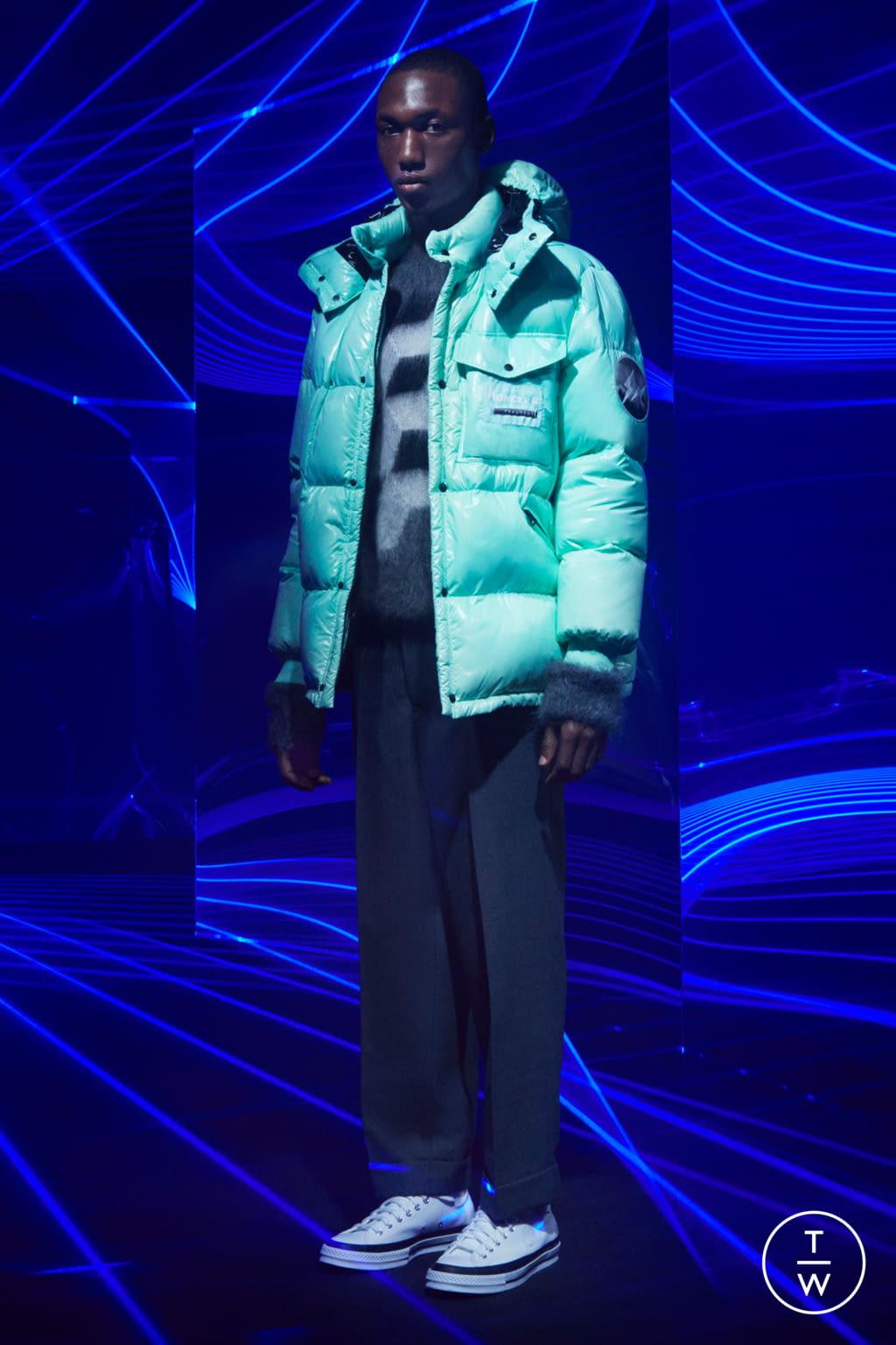 Fashion Week Milan Fall/Winter 2020 look 16 from the 7 Moncler Fragment Hiroshi Fujiwara collection menswear