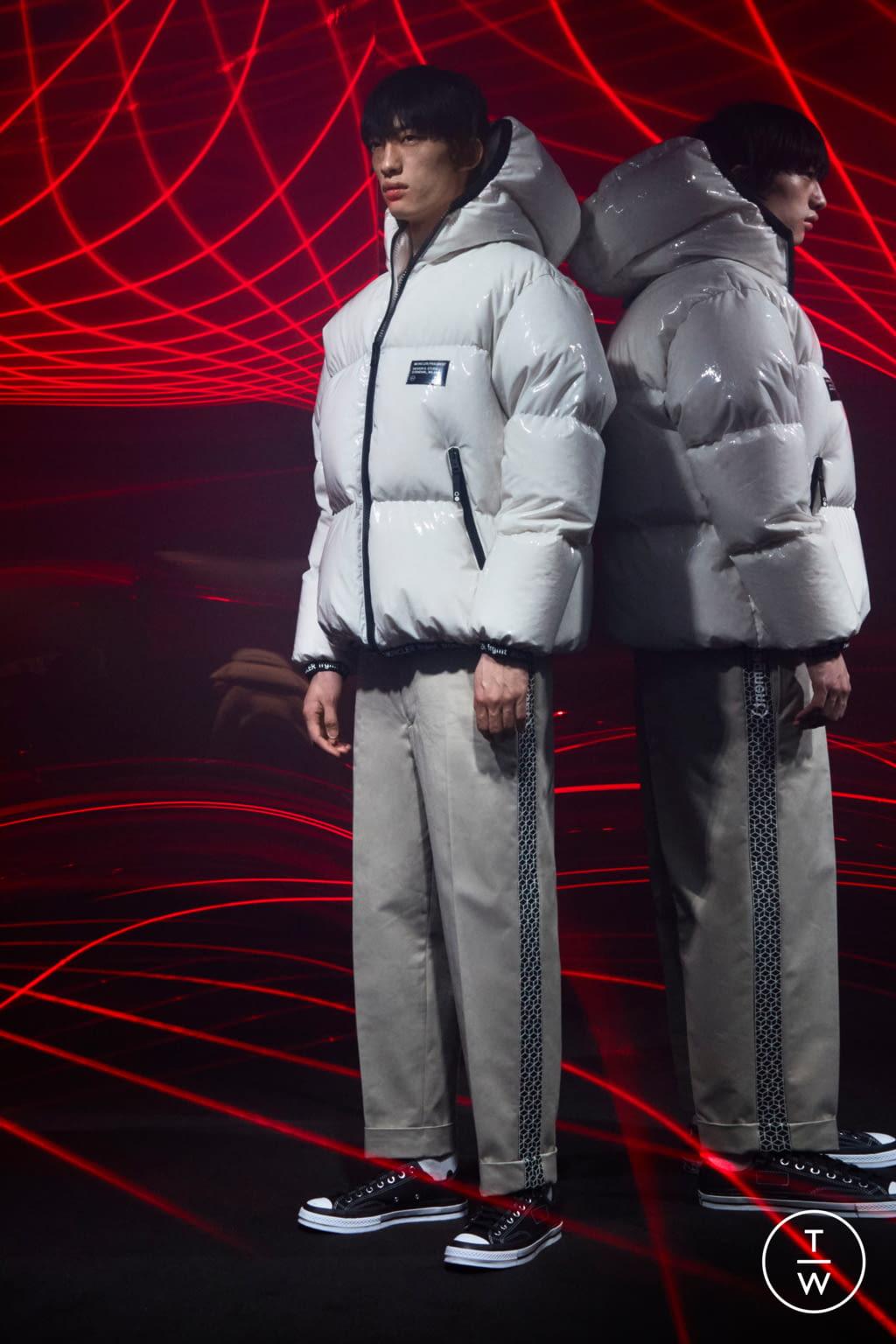Fashion Week Milan Fall/Winter 2020 look 23 from the 7 Moncler Fragment Hiroshi Fujiwara collection menswear